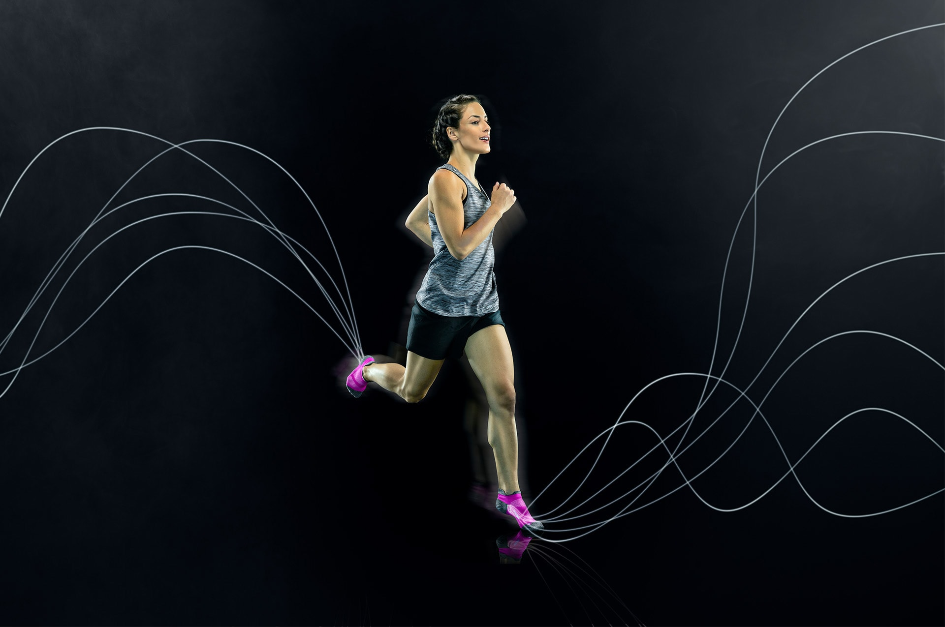 running sock technology
